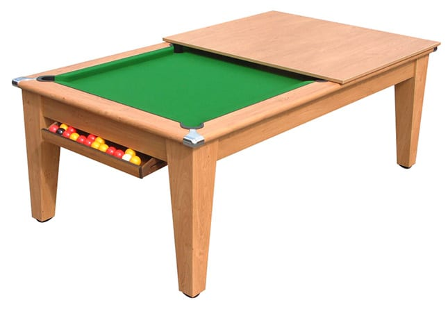 Classic Pool Dining Table - Half Open