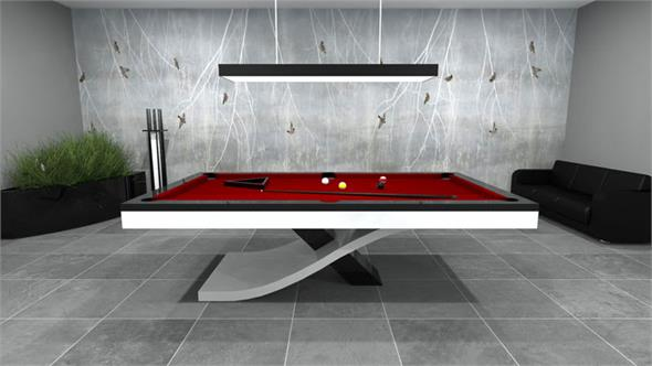 Bilhares Europa Flow Pool Table