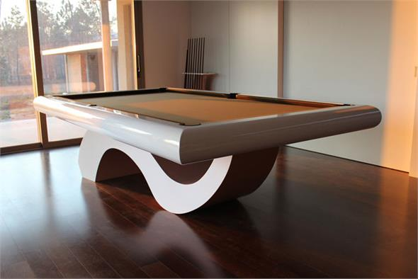 Bilhares Europa Picasso Slim Pool Table
