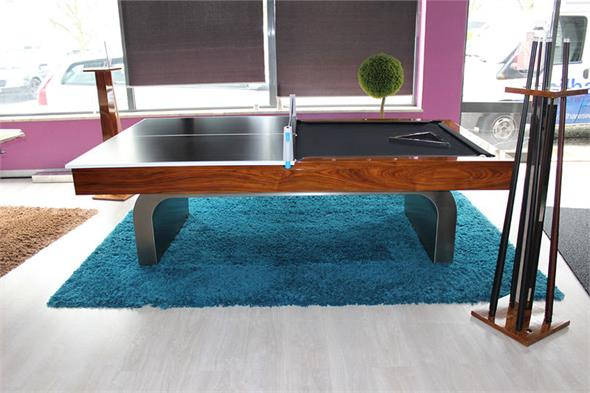 Bilhares Europa Silver McQueen Pool Table