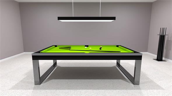 Bilhares Europa Singapore Pool Table