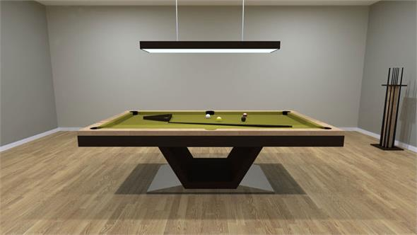 Bilhares Europa Vermont Pool Table