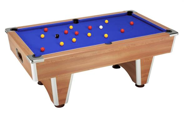 Elite Pool Table: Walnut - 7ft: Special Offer