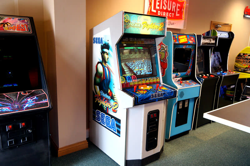 Virtua Fighter 2 Arcade Machine For Sale | Home Leisure Direct
