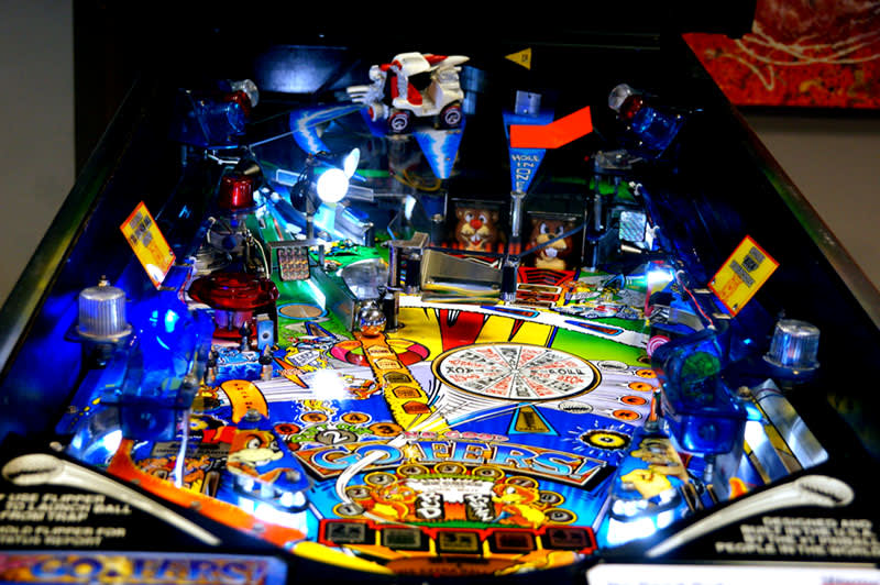 No Good Gofers Pinball Machine - Playfield View