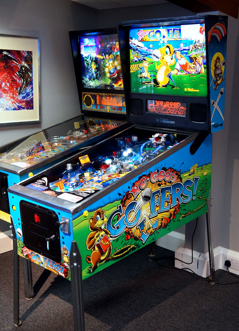 An image of No Good Gofers Pinball Machine