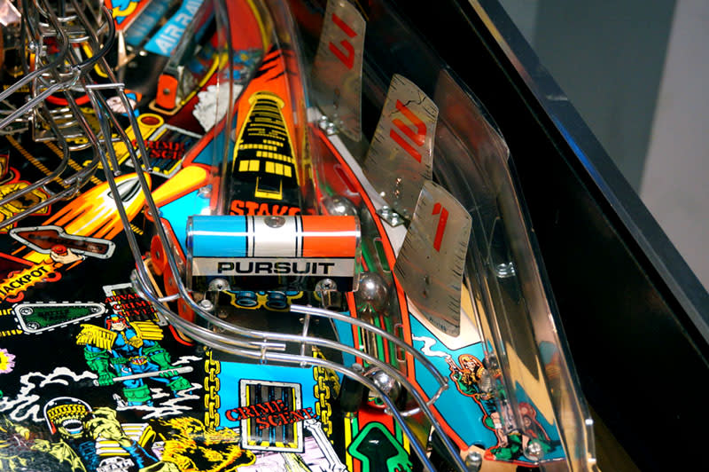 Judge Dredd Pinball Machine - Cooling Towers