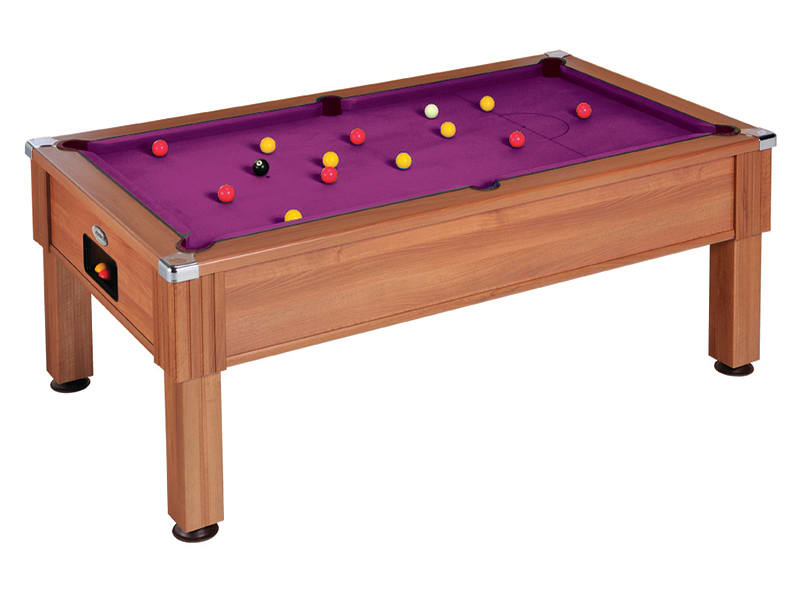 An image of Emirates Pool Table: Walnut - 6ft, 7ft