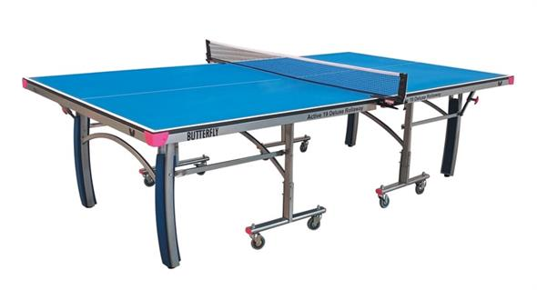 Butterfly Indoor Active 19 Deluxe Rollaway Table Tennis Table