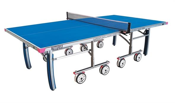 Butterfly Outdoor Garden Rollaway 6000 Table Tennis Table