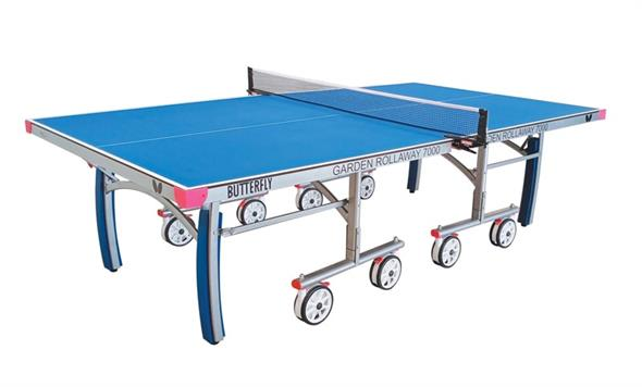 Butterfly Outdoor Garden Rollaway 7000 Table Tennis Table