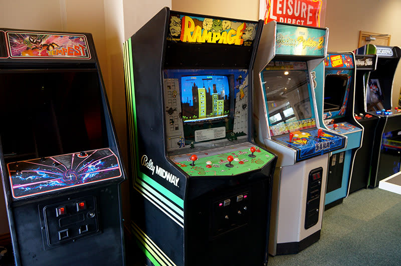 Rampage Arcade Machine - In Showroom