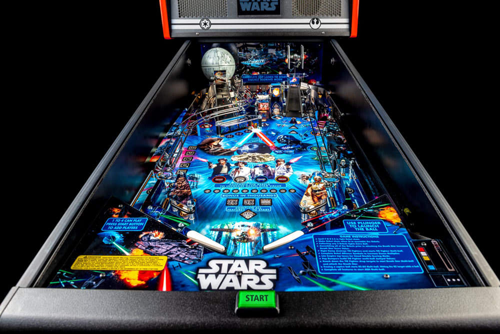 Star Wars Pin Pinball Machine - Playfield View