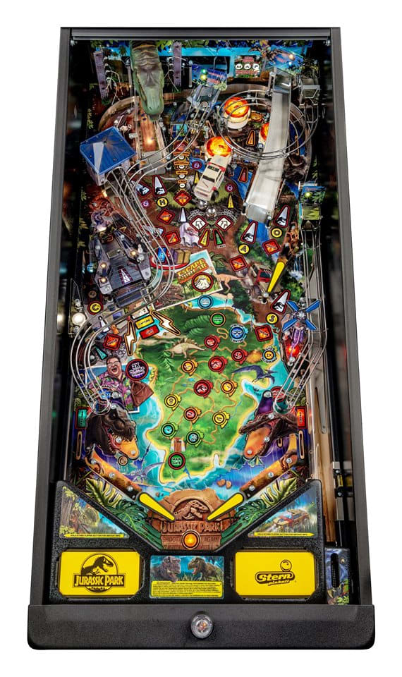 Jurassic Park Pinball Machine Pro - Playfield