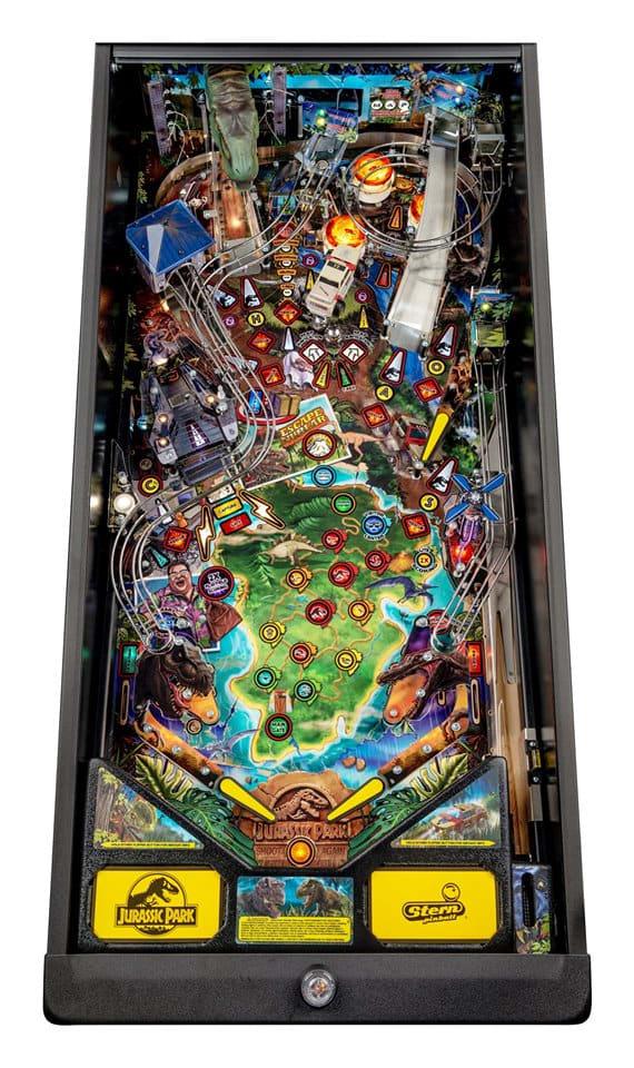 Jurassic Park Pinball Machine Pro - Playfield