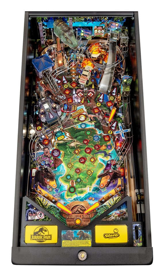 Jurassic Park Pinball Machine Premium - Playfield