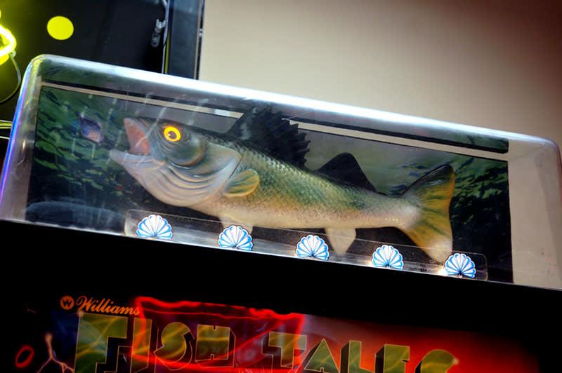 Fish Tales Pinball Machine - Fish Topper