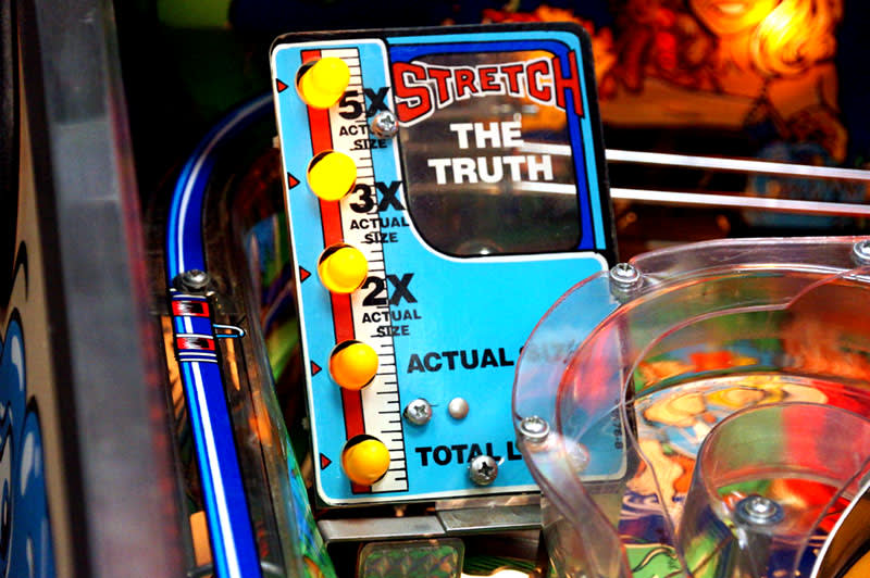Fish Tales Pinball Machine - Stretch The Truth