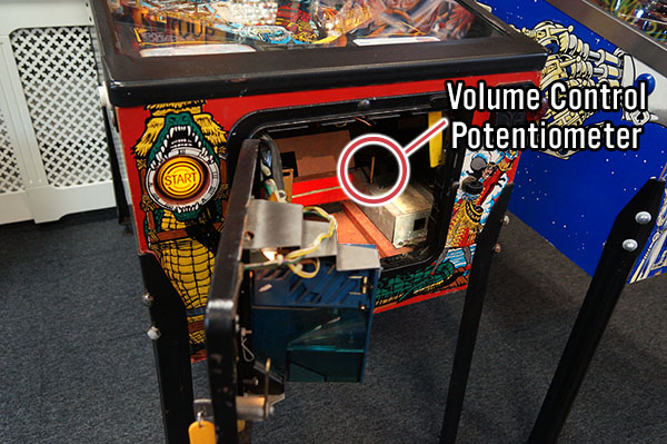 Data East Pinball Machine Volume Control