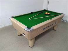 Supreme Winner Pool Table: Oak - 7ft: Warehouse Clearance