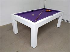 Billards Montfort Lewis High-Gloss White Luxury Pool Table: Clearance