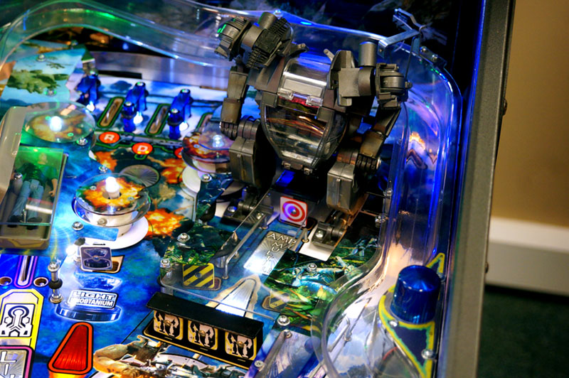 Avatar Pinball Machine - AMP Suit