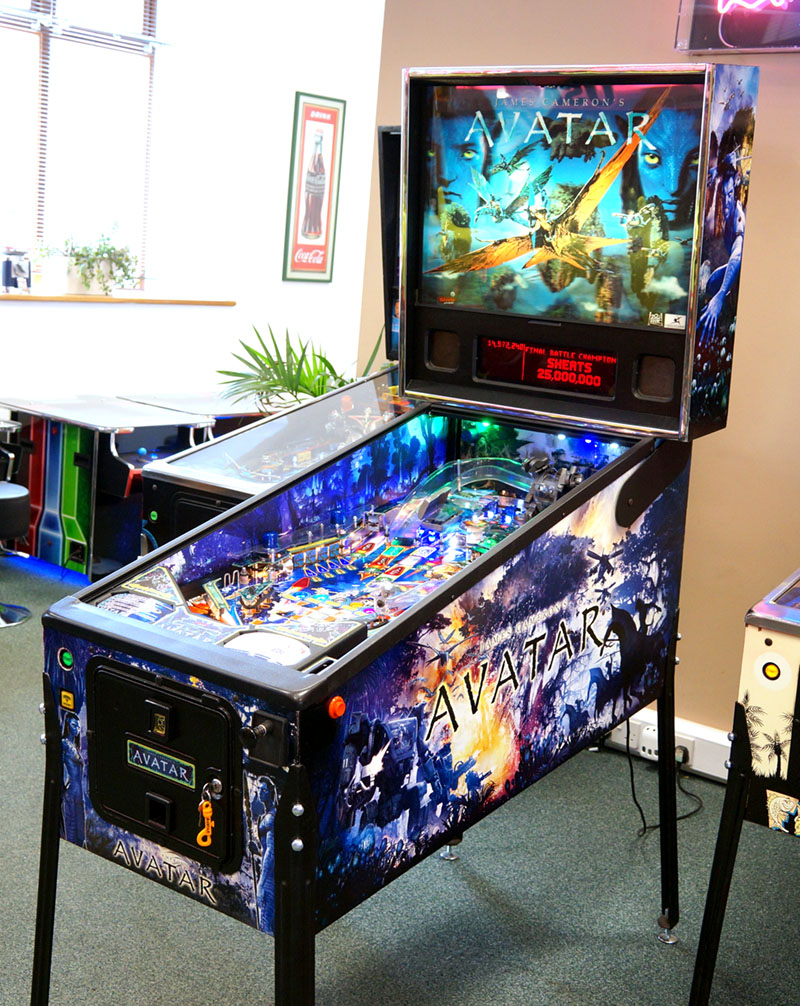 An image of Avatar Pinball Machine