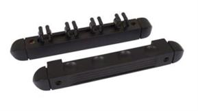 Buffalo 4 Cue Rack - Black