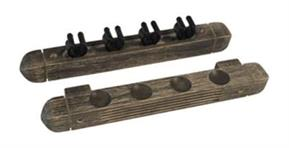Buffalo 4 Cue Rack - Grey