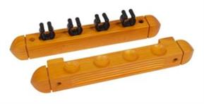 Buffalo 4 Cue Rack - Maple