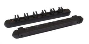 Buffalo 6 Cue Rack - Black
