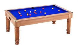 Majestic Pool Dining Table: Walnut - 6ft, 7ft