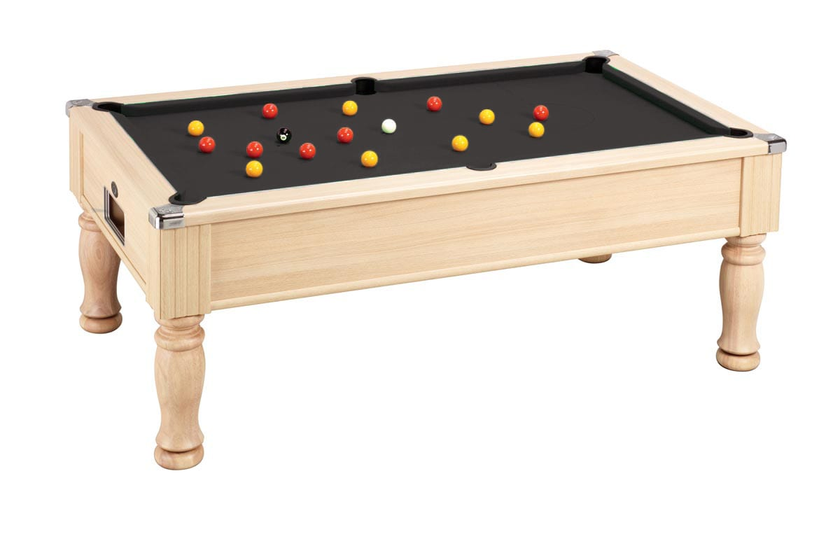 An image of Monarch Pool Table: Oak  - 6ft, 7ft