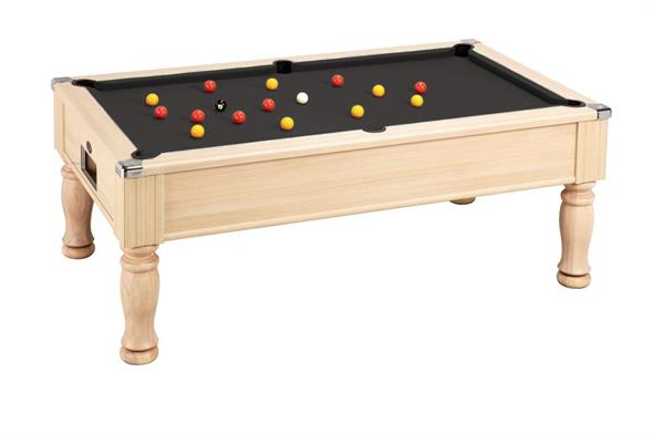 Monarch Pool Table: Oak  - 6ft, 7ft