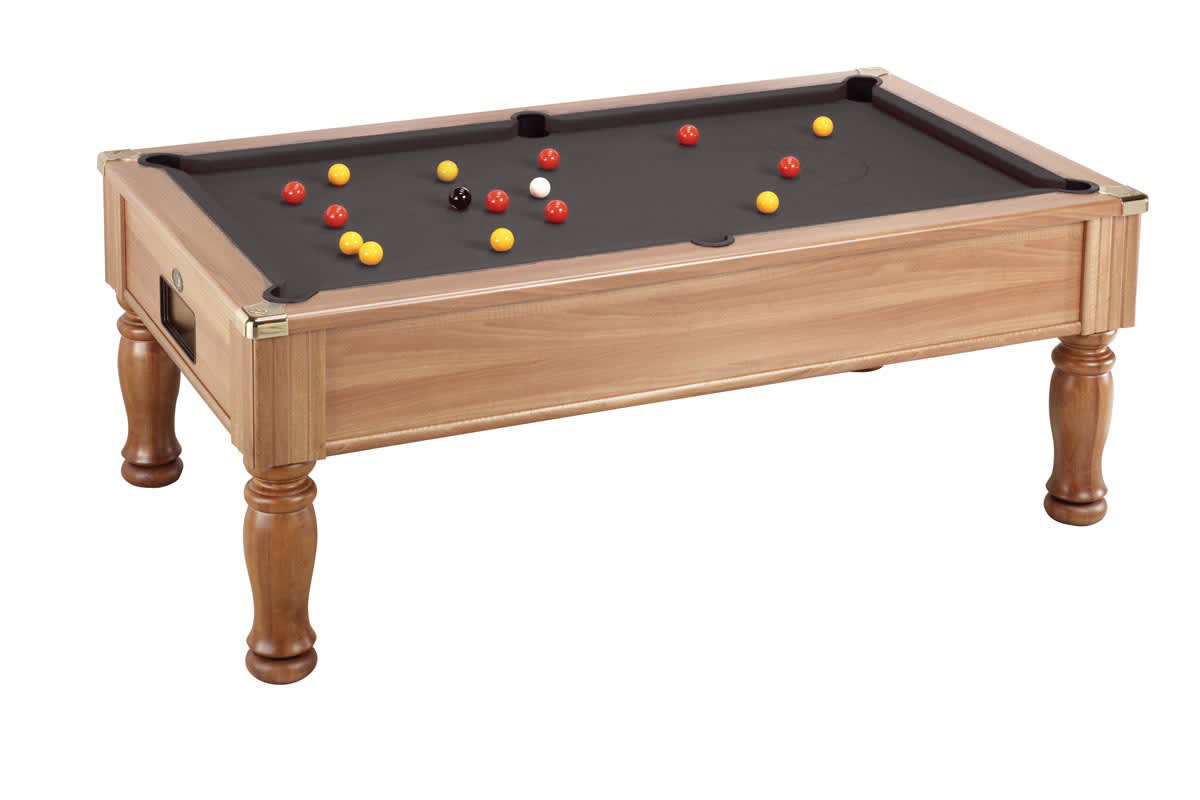 An image of Monarch Pool Table: Walnut - 6ft, 7ft