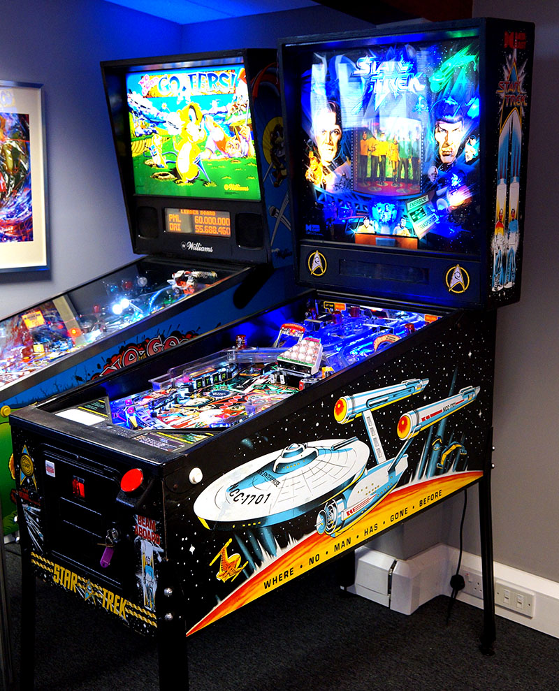 An image of Star Trek 25th Anniversary Pinball Machine