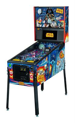 Star Wars Comic Edition Pro Pinball Machine DEPOSIT