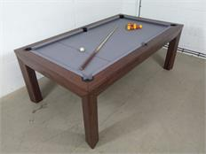 Signature Anderson Walnut Pool Dining Table - 7ft: Warehouse Clearance