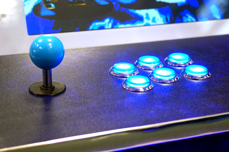 ArcadePro Venus 2350 Bartop Arcade Machine - Blue Controls