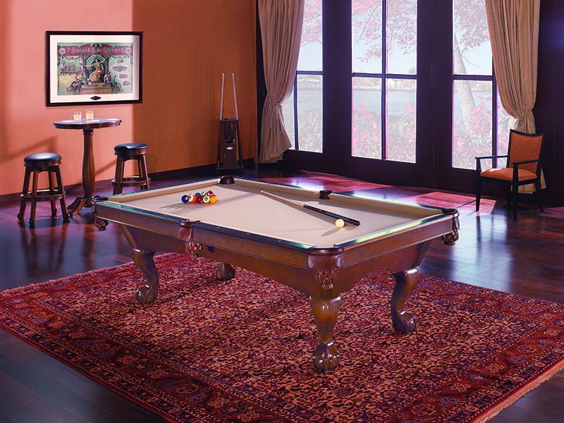 Brunswick Tremont American Pool Table - In Room