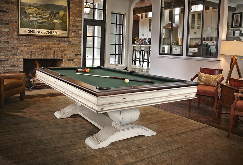 Brunswick Mackenzie American Pool Table - In Room