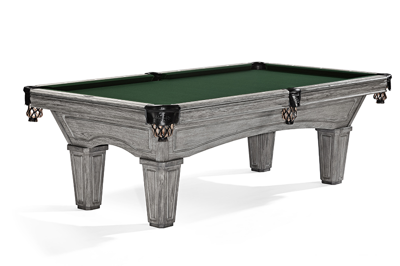 Brunswick Glenwood American Pool Table - Rustic Grey