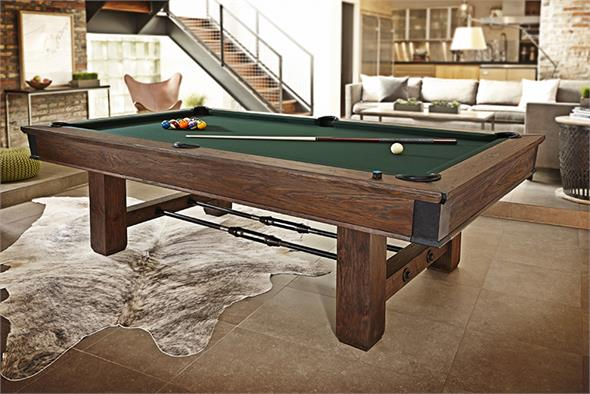 Brunswick Canton American Pool Table - 8ft