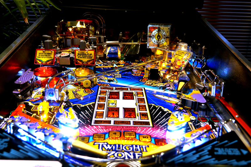 Twilight Zone Pinball Machine - Playfield View