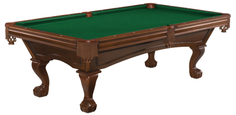 Brunswick Glenwood American Pool Table - Chestnut