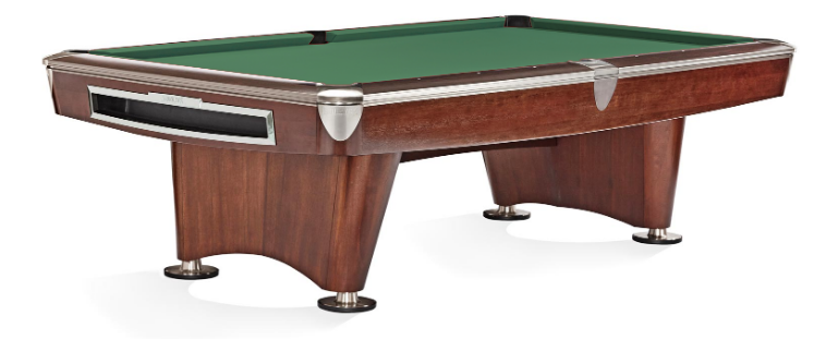 Brunswick Gold Crown VI American Pool Table - Mahogany with Gully Ball Return