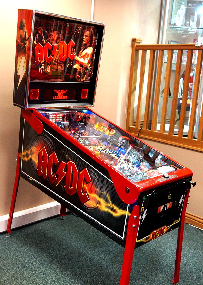AC/DC Premium Pinball Machine