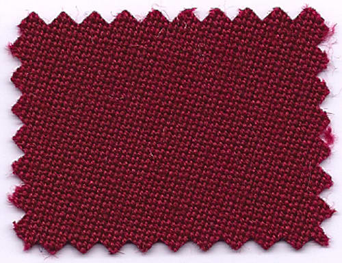 An image of Hainsworth Elite Pro Cloth - Burgundy
