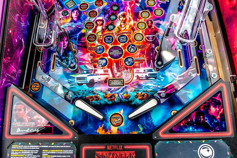 Stranger Things LE Pinball Machine - Flippers