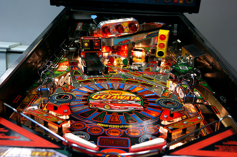 The Getaway Pinball Machine - Playfield View